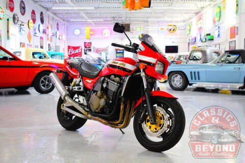 2004 Kawasaki ZRX1200R for sale at Classics and Beyond Auto Gallery in Wayne MI
