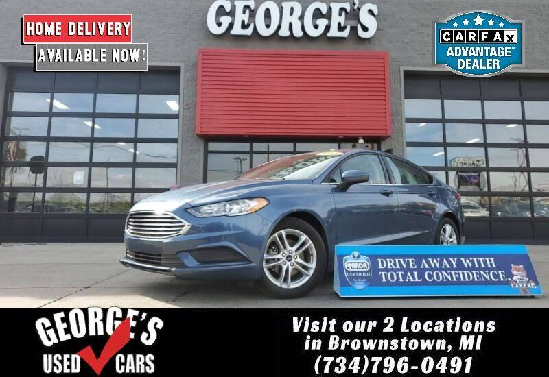2018 Ford Fusion for sale at George's Used Cars - Telegraph in Brownstown MI