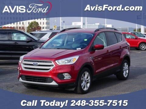 2017 Ford Escape for sale at Work With Me Dave in Southfield MI