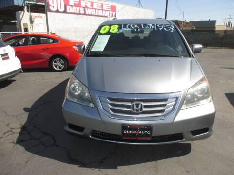 2008 Honda Odyssey for sale at Quick Auto Sales in Modesto CA