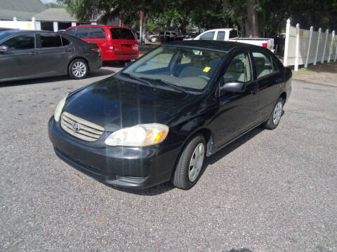 2004 Toyota Corolla for sale at ORANGE PARK AUTO in Jacksonville FL