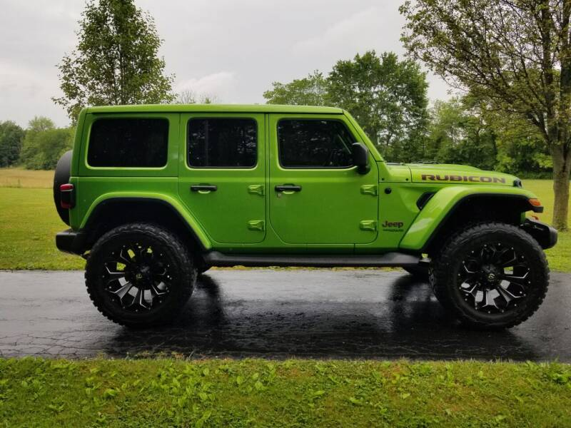 2019 Jeep Wrangler Unlimited for sale at M & M Auto Sales in Hillsboro OH