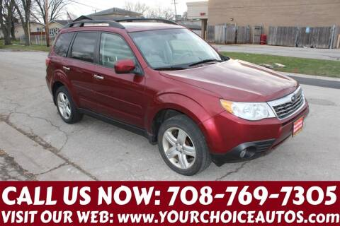 2010 Subaru Forester for sale at Your Choice Autos in Posen IL