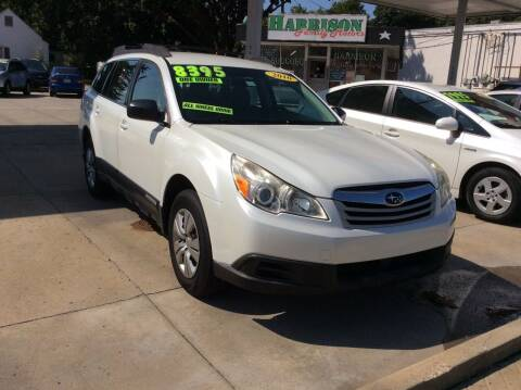 2010 Subaru Outback for sale at Harrison Family Motors in Topeka KS