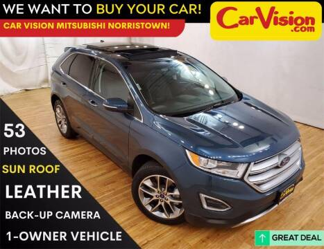 2016 Ford Edge for sale at Car Vision Mitsubishi Norristown in Trooper PA