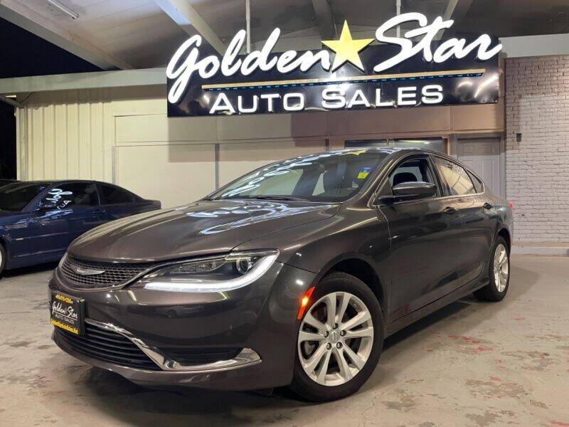 2015 Chrysler 200 for sale at Golden Star Auto Sales in Sacramento CA