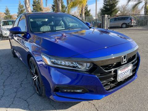 2018 Honda Accord for sale at Moun Auto Sales in Rio Linda CA