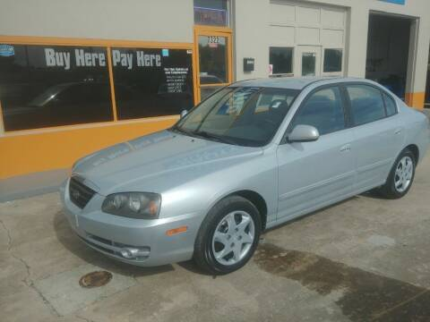 2004 Hyundai Elantra for sale at QUALITY AUTO SALES OF FLORIDA in New Port Richey FL