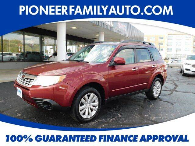 2012 Subaru Forester for sale at Pioneer Family Preowned Autos in Williamstown WV