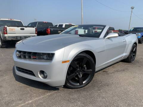 2012 Chevrolet Camaro for sale at Superior Auto Mall of Chenoa in Chenoa IL
