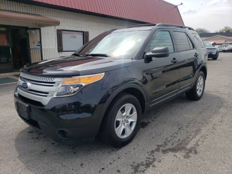 2013 Ford Explorer for sale at Salem Auto Sales in Salem VA