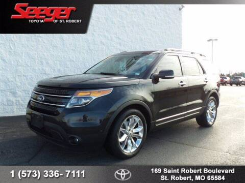 2013 Ford Explorer for sale at SEEGER TOYOTA OF ST ROBERT in St Robert MO