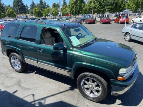 2004 Chevrolet Tahoe for sale at Pacific Point Auto Sales in Lakewood WA