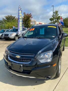 2015 Chevrolet Captiva Sport for sale at Top Auto Sales in Petersburg VA