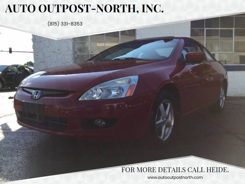 2003 Honda Accord for sale at Auto Outpost-North, Inc. in McHenry IL