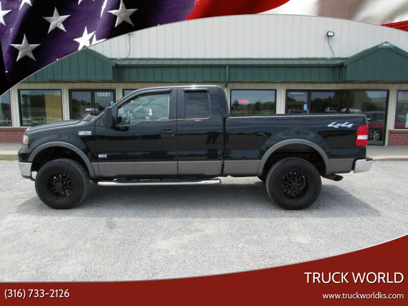 2008 Ford F-150 for sale at Truck World in Augusta KS