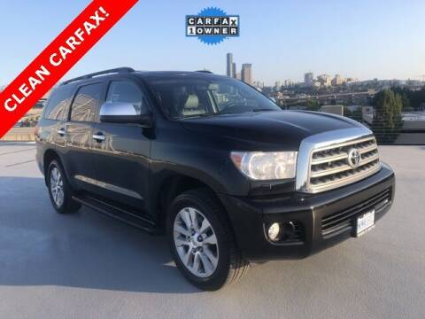 2012 Toyota Sequoia for sale at Toyota of Seattle in Seattle WA