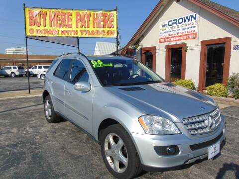 2006 Mercedes-Benz M-Class for sale at Crown Used Cars in Oklahoma City OK