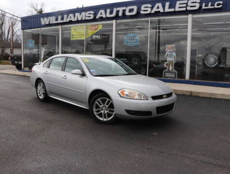 2013 Chevrolet Impala for sale at Williams Auto Sales, LLC in Cookeville TN