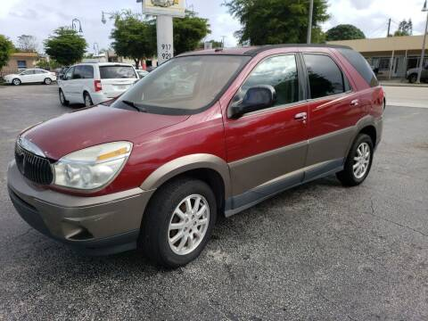 2005 Buick Rendezvous for sale at KK Car Co Inc in Lake Worth FL