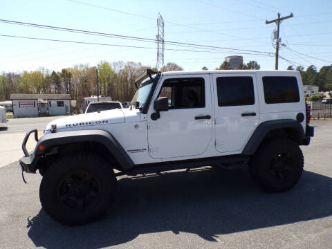 2014 Jeep Wrangler Unlimited for sale at Cambria Cars in Mooresville NC