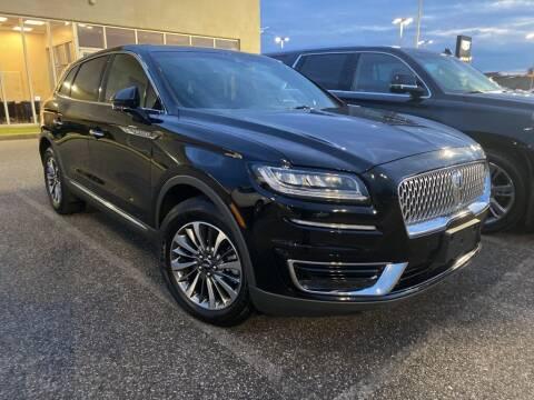 2020 Lincoln Nautilus for sale at JOE BULLARD USED CARS in Mobile AL