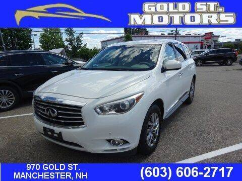 2013 Infiniti JX35 for sale at Gold St. Motors in Manchester NH