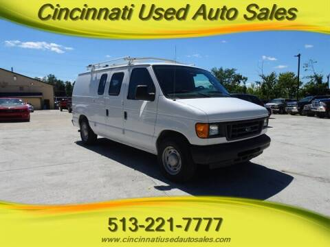 2005 Ford E-Series Cargo for sale at Cincinnati Used Auto Sales in Cincinnati OH