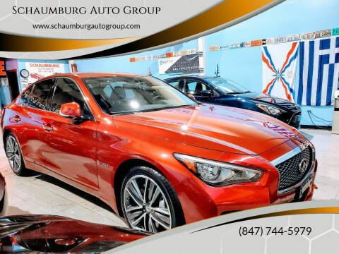 2014 Infiniti Q50 Hybrid for sale at Schaumburg Auto Group in Schaumburg IL