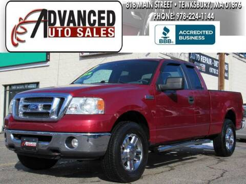 2008 Ford F-150 for sale at Advanced Auto Sales in Tewksbury MA