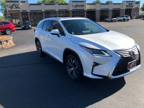 2019 Lexus RX 350L for sale at ASSOCIATED SALES & LEASING in Marshfield WI