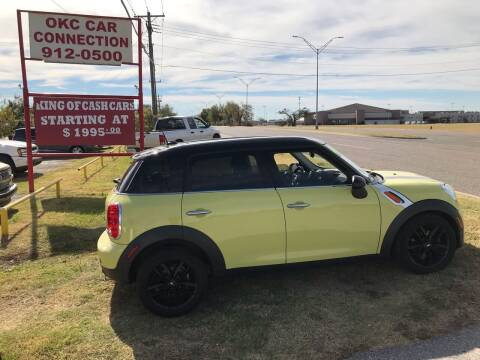 2011 MINI Cooper Countryman for sale at OKC CAR CONNECTION in Oklahoma City OK