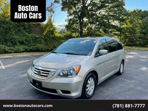 2008 Honda Odyssey for sale at Boston Auto Cars in Dedham MA