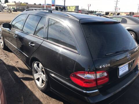 2006 Mercedes-Benz E-Class for sale at BARNES AUTO SALES in Mandan ND