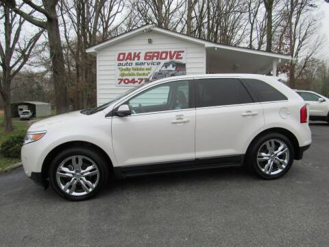 2012 Ford Edge for sale at Oak Grove Auto Sales in Kings Mountain NC