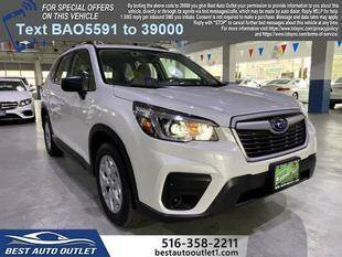 2020 Subaru Forester for sale at Best Auto Outlet in Floral Park NY
