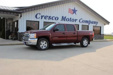 2013 Chevrolet Silverado 1500 for sale at Cresco Motor Company in Cresco IA