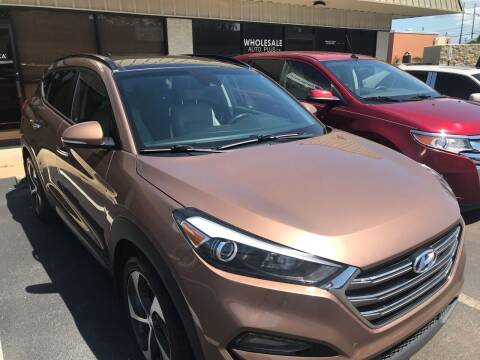 2016 Hyundai Tucson for sale at Wholesale Auto Plus, LLP. in Montgomery AL