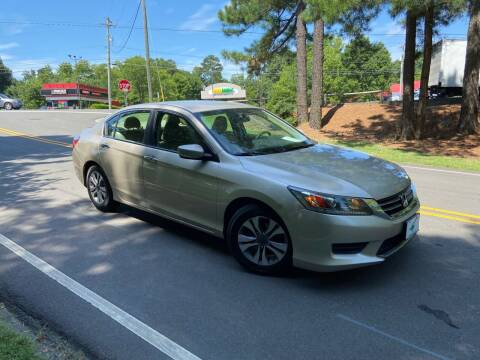 2014 Honda Accord for sale at THE AUTO FINDERS in Durham NC
