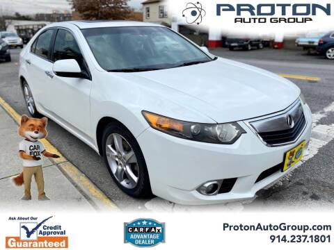2012 Acura TSX for sale at Proton Auto Group in Yonkers NY