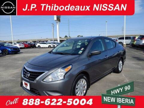 2016 Nissan Versa for sale at J P Thibodeaux Used Cars in New Iberia LA
