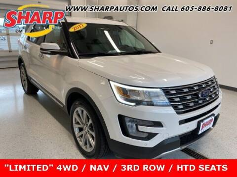 2017 Ford Explorer for sale at Sharp Automotive in Watertown SD