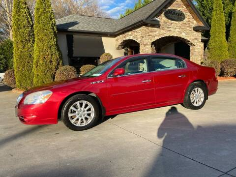 2010 Buick Lucerne for sale at Hoyle Auto Sales in Taylorsville NC