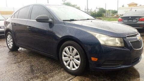 2011 Chevrolet Cruze for sale at Trans Copacabana Auto Sales in Hollywood FL