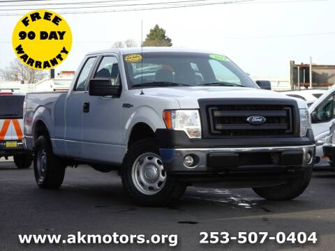 2014 Ford F-150 for sale at AK Motors in Tacoma WA
