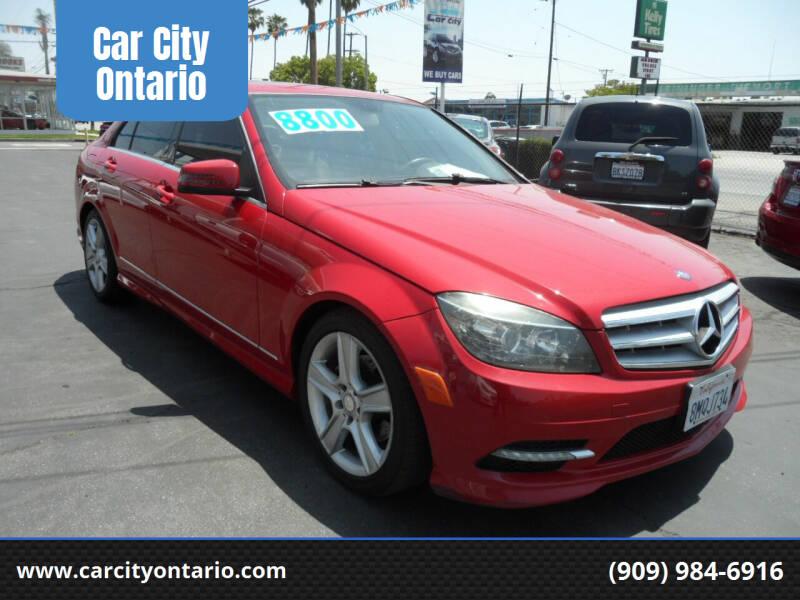 2011 Mercedes-Benz C-Class for sale at Car City Ontario in Ontario CA