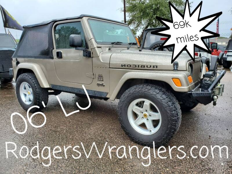 2006 Jeep Wrangler for sale at Rodgers Wranglers in North Charleston SC