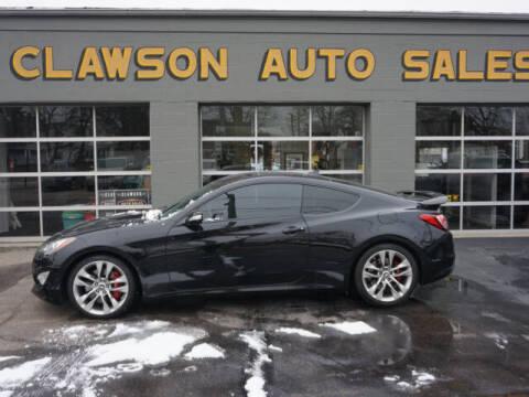 2013 Hyundai Genesis Coupe for sale at Clawson Auto Sales in Clawson MI