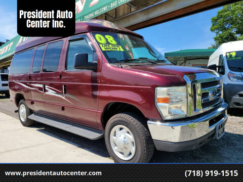 2008 Ford E-Series Wagon for sale at President Auto Center Inc. in Brooklyn NY