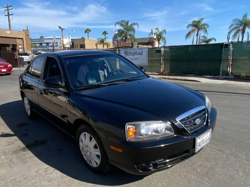 2005 Hyundai Elantra for sale at Paykan Auto Sales Inc in San Diego CA
